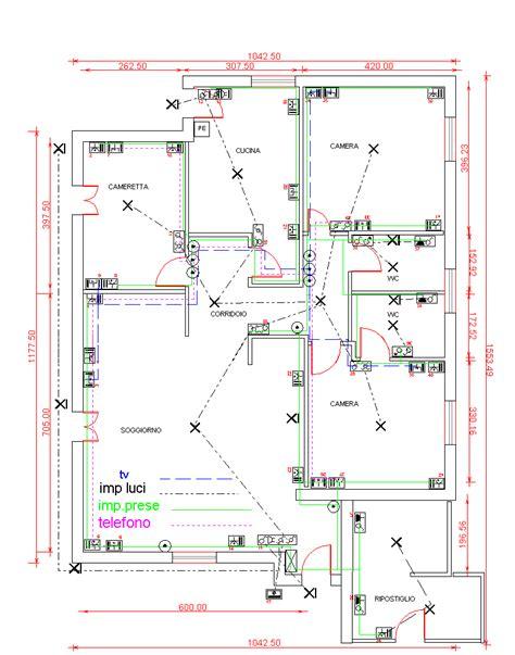 impianto elettrico di un appartamento disegno impianto elettrico di un appartamento