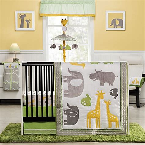 Carters Crib Bedding Set Buy S 174 Zoo Animals 4 Crib Bedding Set From Bed Bath Beyond