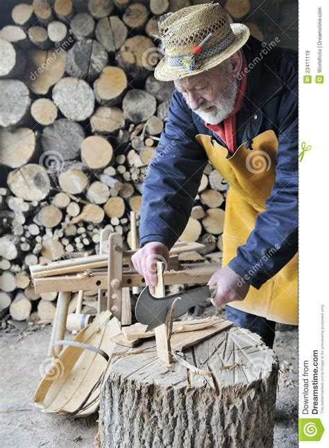 traditional woodwork traditional woodworker stock image image of craftsman
