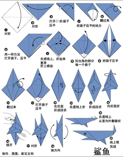 How To Make A Origami Shark Easy - how to make a paper shark 28 images quot step by step