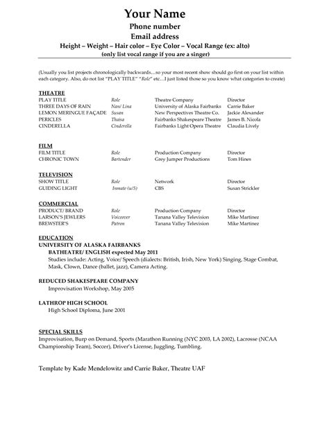 doc 580600 resume exle sle high school student resume template in word bizdoska
