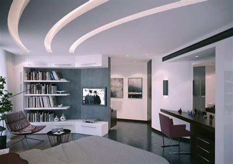 Beleuchtung Modern by Abgeh 228 Ngte Decke Beleuchtung Ein Trend In Der Deckenmontage
