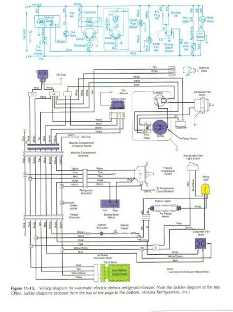 defrost thermostat wiring diagram amana dryer heating