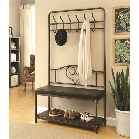 black hall tree with storage bench black hall tree with storage bench