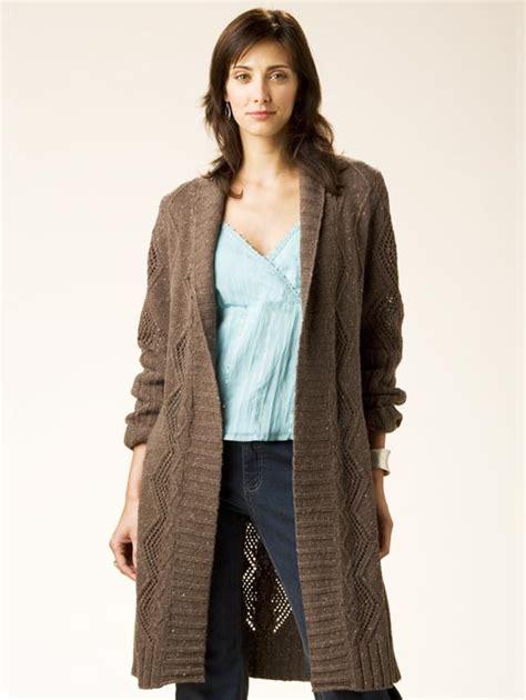 knit pattern long sweater coat crochet coat patterns topic pattern for a long sweater
