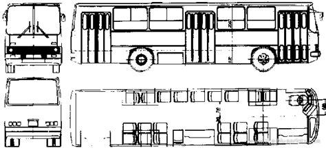 Blueprint Photo Paper 260 2002 ikarus 260 04 blueprints free outlines
