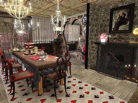alice in wonderland inspired home decor doty round 2 alice in wonderland kitchen dining room
