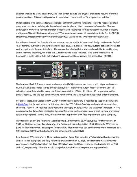 Pdf Manual For Tivo Dvr Series3 Hd