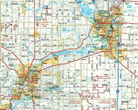 wi map national geographic wall map of southwest wisconsin