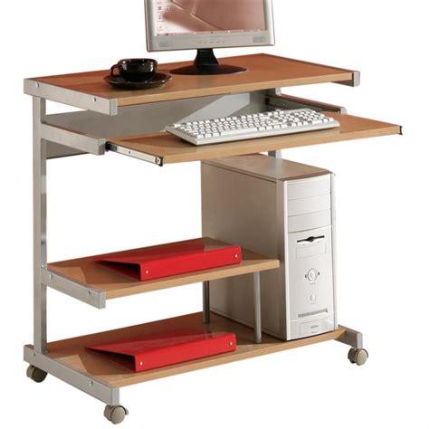 monter un bureau d 騁udes pc tisch computertisch schreibtisch buchedekor