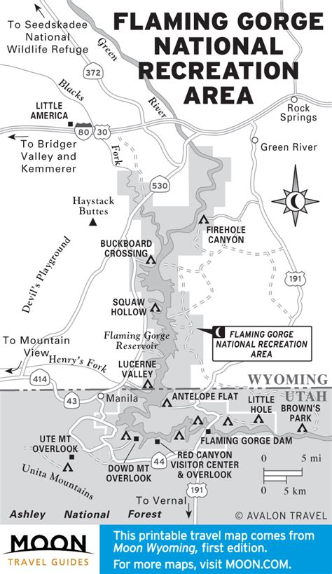 Barnes And Noble College Printable Travel Maps Of Wyoming Moon Travel Guides