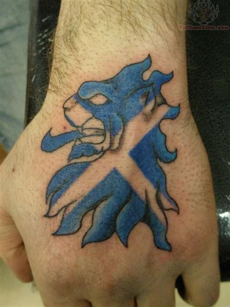 scottish flag tattoo scottish images designs