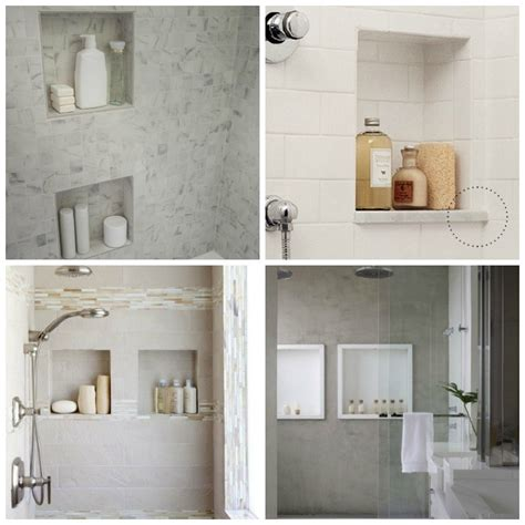 bathroom shower niche ideas designing the shower niche diy decorator