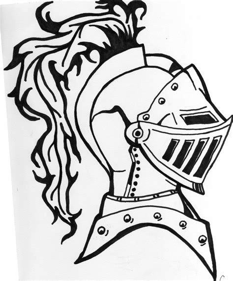 knight helmet coloring page drawn night knights helmet pencil and in color drawn
