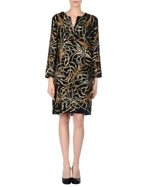 Sgort Batik antik batik dress in black lyst
