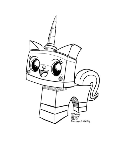 Daily Sketches Princess Unikitty By Fedde On Deviantart
