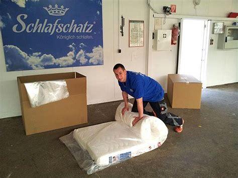 Matratze Verpacken by Entsorgung