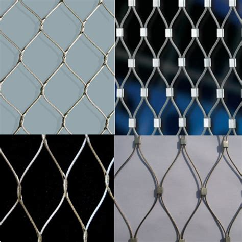 decorative wire mesh for cable mesh zoo mesh knotted cable mesh building decorative