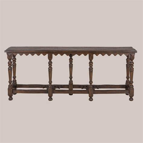 Sofa Back Table by 6175 Walnut Sofa Back Table Paul Ferrante