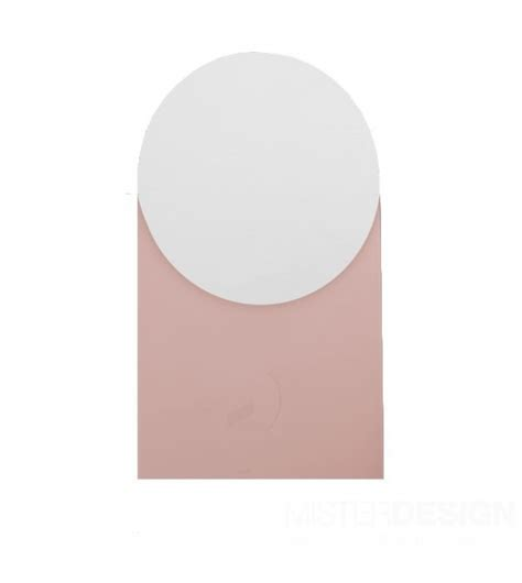 shapes mirror by hay in the shop hay shapes round small mirror milia shop