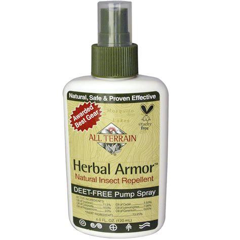 all terrain herbal armor natural insect repellent deet