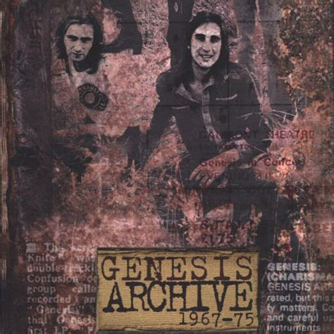 genesis archive the genesis cd review