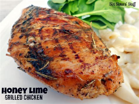 honey lime grilled chicken six sisters stuff