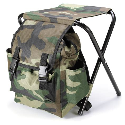 folding fishing chair backpack fishing chair outdoor portable folding stool backpack