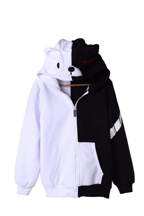 Jaket Anime Kuroko No Basuke Ja Bas 14 Seirin Harakiri Style anime danganronpa thicker hoodie monobear monokuma black