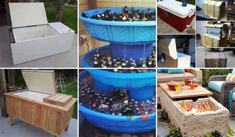 Diy Home Design Ideas Landscape Backyard 19 Clever Diy Outdoor Cooler Ideas Let You Keep Cool In