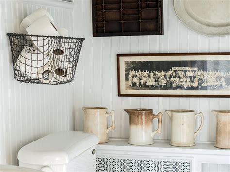 easily boost bathroom storage  wall mounted baskets hgtv