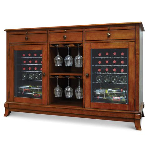 Refrigerated Wine Credenza wine cellar credenza the green