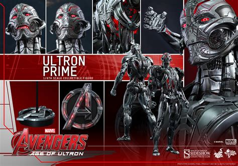 hot toys ultron marvel ultron prime sixth scale figure by hot toys