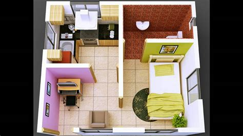 design interior rumah petak dekorasi kamar kost youtube