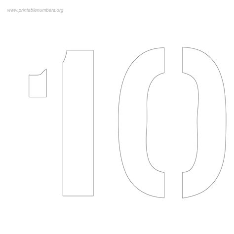printable bubble number stencils 8 best images of printable bubble numbers stencils free