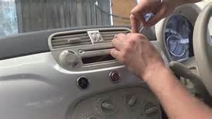 Fiat 500 Pop Aux Input Radio Removal Fiat 500 2007 2013 Justaudiotips
