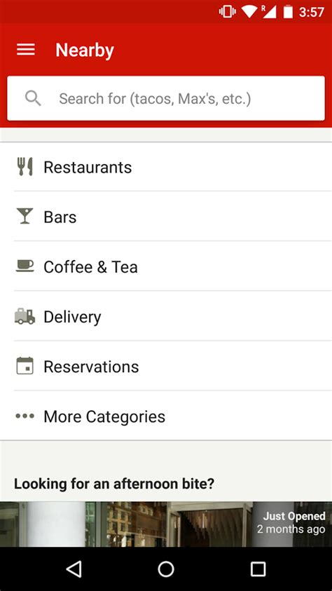 yelp app android yelp food shopping services android apps on play