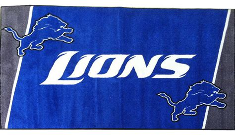Nfl Area Rug Nfl Detroit Lions Football Large Accent Area Rug Contemporary Area Rugs By Obedding