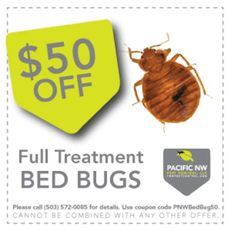bed bug supply coupon pest control coupons pacific nw pest control