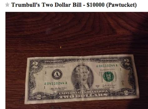 Two Buckaroo — $2 Bill For Sale — Just $10,000! $10000 Bill For Sale