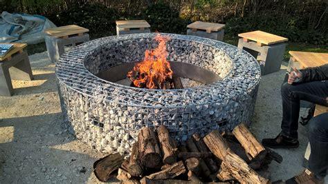 gabionen rund kaufen nach ma 223 erh 228 ltlich bei gabinova - Runde Feuerstelle