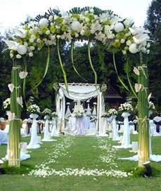 Wedding Decorations Outside   Living Room Interior Designs