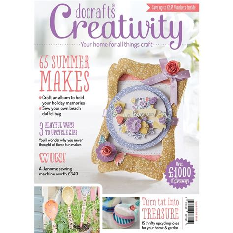 Paper Crafting Magazines - creativity magazine issue 60 july 2015 docrafts from