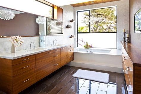 mid century modern master bathroom midcentury bathroom mid century modern bathroom ideas for decorating your