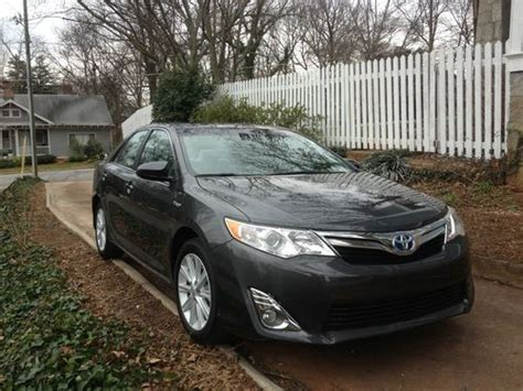 2012 Toyota Camry Hybrid Xle Mpg Find Used 2012 Toyota Camry Hybrid Xle 40 Mpg Low