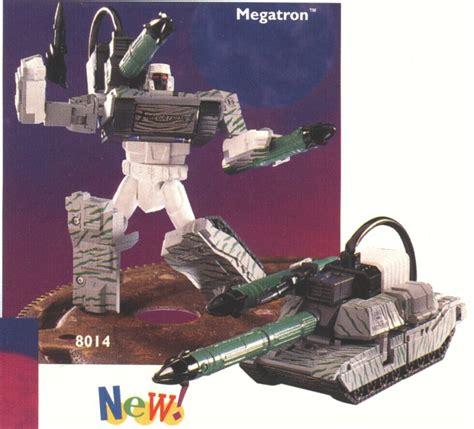Megatron Grey megatron combat grey transformers toys tfw2005