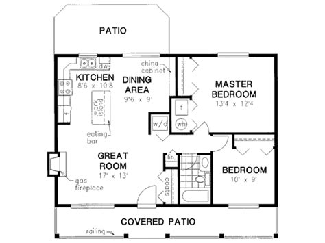 900 Sq Ft Floor Plans | cabin style house plan 2 beds 1 baths 900 sq ft plan 18 327