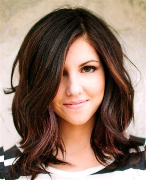 cute hairstyles brown hair cute brunette medium hairstyles hair i like pinterest