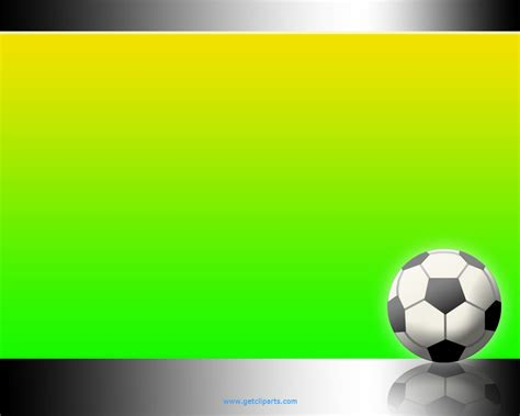 powerpoint football template soccer wallpapers for desktop wallpapersafari