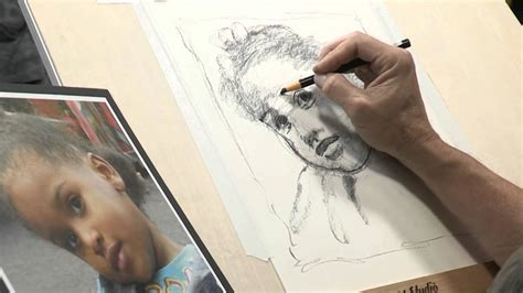 like drawing how to draw like an artist creating a portrait sketch